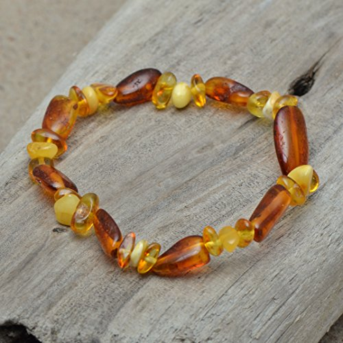 Genuine Amber Bracelet for Women - Mixed