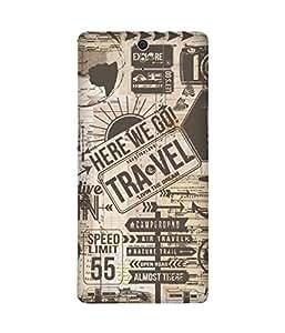 Travel Sony Xperia C5 Case