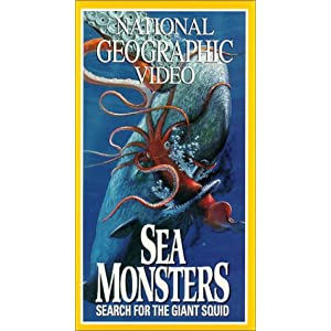 Screenshot of National Geographic cover for Seas Monsters