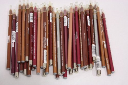 Wholesale Lot of 10 Piece Jordana Lip Liners & Eyeliners Cosmetics Random Shades
