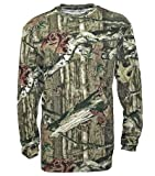 Mossy Oak Mens Long Sleeve Pocket T-Shirt, Infinity, XXX-Large