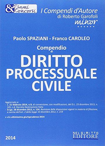 Compendio di diritto processuale civile. Con aggiornamento online From Neldiritto.it