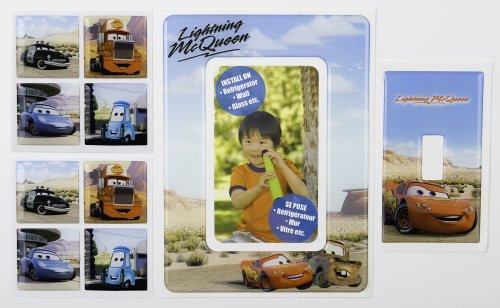 Brewster 93920 Disney Cars Tile Combo, 4 Piece Set