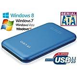 Allcam IT700 USB 2.0 2.5 inch Enclosure for SATA Hard Drive - Blue