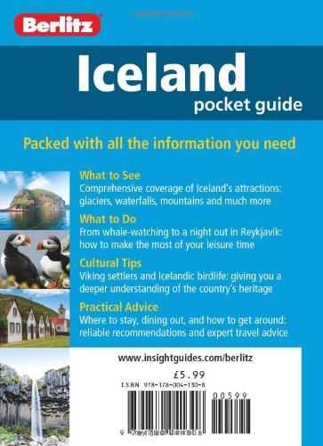 Berlitz: Iceland Pocket Guide (Berlitz Pocket Guides)