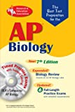 img - for AP Biology w/CD-ROM (REA) 7th Edition - The Best Test Prep for the AP Exam (Test Preps) book / textbook / text book