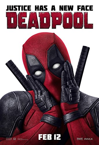 Deadpool Film-Poster, 70 x 44 cm