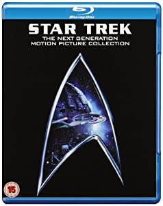 Star Trek - The Next Generation Movie Collection (Star Trek: Generations , Star Trek: First Contact , Star Trek: Insurrection , Star Trek: Nemesis ) [Blu-ray] [Import anglais]