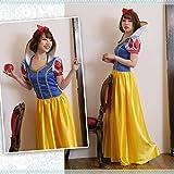 shen-princess:M:ハロウィン白雪姫コスプレコスチューム衣装仮装MLXL 大きいサイズドレスハロウィーンハロウインHALLOWEENはろうぃんはろうぃーんディズニーウィッチ魔女天使かぼちゃ大人リボンパーティーグッズ(M)