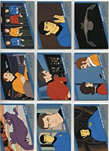 Star Trek The Original Series Quotable Trading Cards Complete 18 Card Animated Series Chase Set