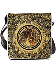 Hand-painted Classic Coins Sling Bag