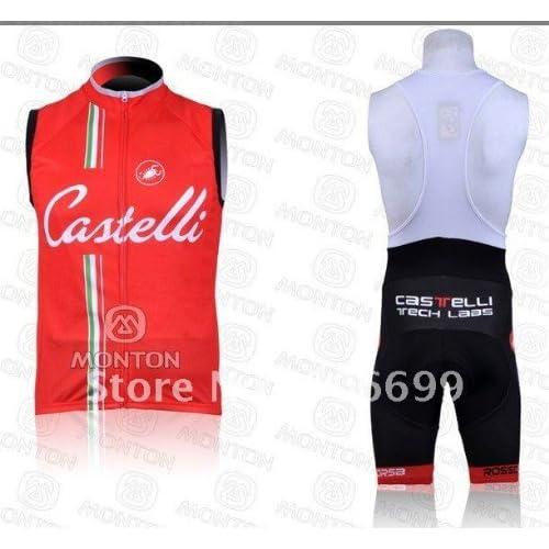 2011 castelli vest cycling jerseys and bib short set cycling wear cycling  clothing bike jersey ff3555293