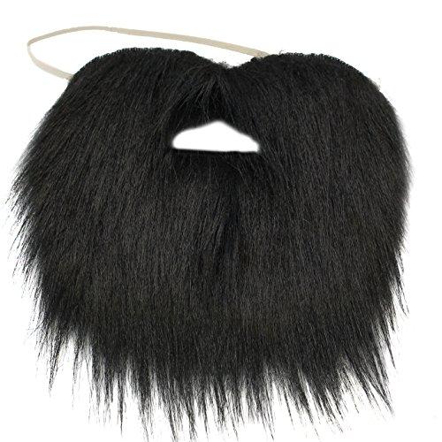 Black Beard and Mustache