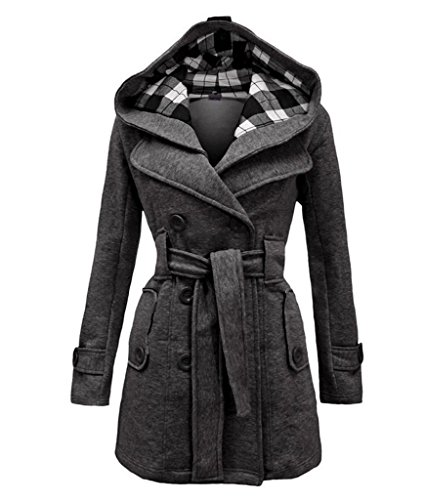 Womens-Warm-Fleece-Hooded-Double-Breast-Jacket-with-Belt-Coat