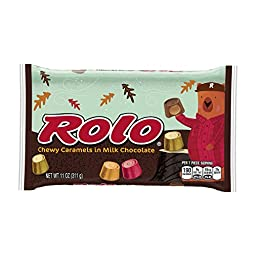 ROLO Fall Harvest Chewy Caramels in Milk Chocolate (11-Ounce Bag)