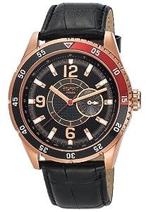 Esprit Herren-Armbanduhr XL Varsity Analog Quarz Leder ES104131005