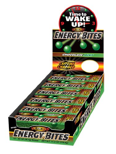 Outburst Energy Bites-Chocolate Mint (Tray of 12)