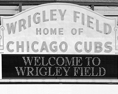 chicago-cubs-wrigley-field-print-black-and-white-picture-on-photo-paper-or-canvas-size-5x7-to-30x45-