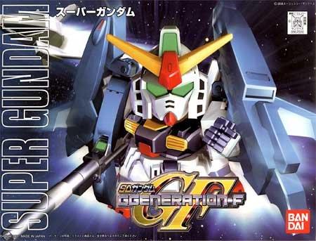 BB SD 227 Super Gundam GF Model Kit