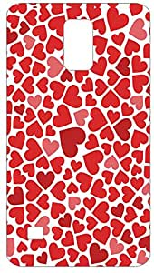 Hearts Animal Pattern Back Cover Case for Samsung Galaxy S5