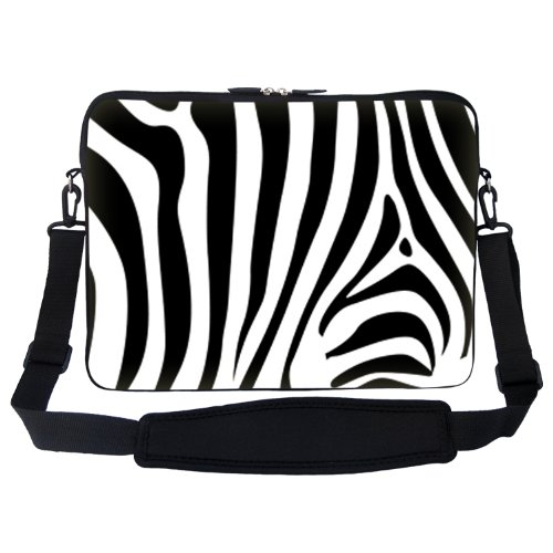 15 15.6 inch Zebra Stripe Design Laptop Sleeve