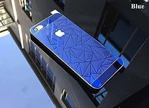 MobiQ 3D-APK Front + Back 3D Tempered glass for Apple iphone 6 Plus-blue