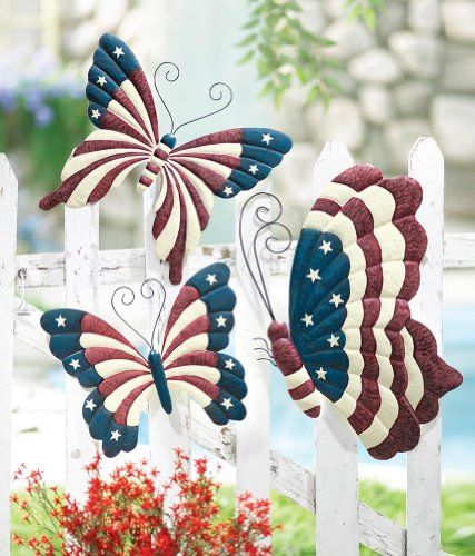 Decorseasonal shop for seasonal decor online for Outdoor butterfly decor