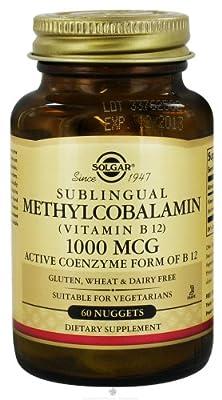 Solgar - Methylcobalamin Vitamin B12 1000 mcg.