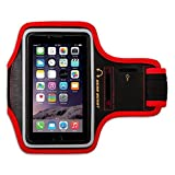 Gear Beast Deluxe Sports Armband + Key Holder for Apple iPhone 6 Plus (5.5 Inch) & Samsung Galaxy Note 4 / 3/...