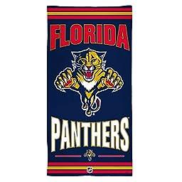 NHL Florida Panthers Fiber Beach Towel, 30 x 60\