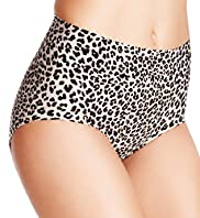 Light Control Animal Print Full Briefs