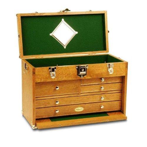 Gerstner wood tool chests special chest golden oak