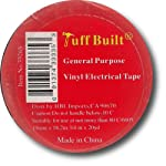 3 Pack General Purpose Vinyl Electrical Tape by Tuff Built