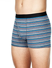 2 Pack Autograph Modal Blend Marl Multi-Striped Trunks