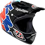 Troy Lee Designs TLD D2 Helmet Bicycle / BMX - Superstar Red/Blue Size X-Large / 2X-Large (XL/XXL) *LIMITED EDITION* / 0301-0411
