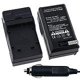 BestDealUK Compact Battery Charger Set For Olympus Li-50B
