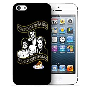 Snoogg Come To The Dark Side Designer Protective Back Case Cover For IPHONE 5