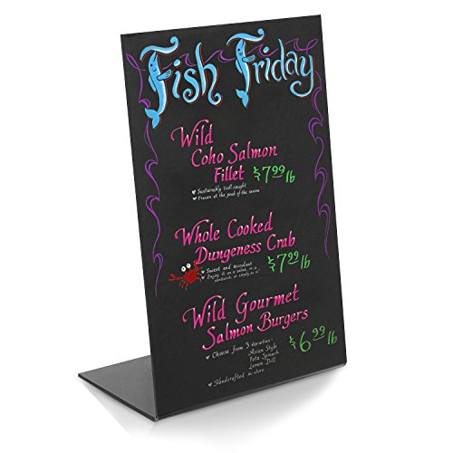 Modern-Black-Acrylic-Tabletop-Wet-Erase-Liquid-Chalk-Board-Menu-Display-Write-On-Board-Wedding-Sign