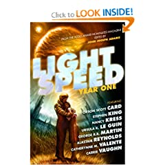 Lightspeed: Year One by Stephen King,&#32;Orson Scott Card,&#32;George R. R. Martin and Robert Silverberg
