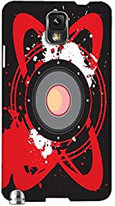 Timpax Slip-resistant, stain-resistant and tear-resistant Hard Back Case Cover Printed Design : Music for me.Specifically Design For : Samsung Galaxy Note 3 ( N9000 )
