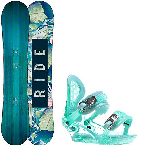 Ride Baretta 145cm Womens Snowboard + Ride KS Bindings - Fits US Wms Boots Sizes: 7,8,9,10 (Baretta Range compare prices)