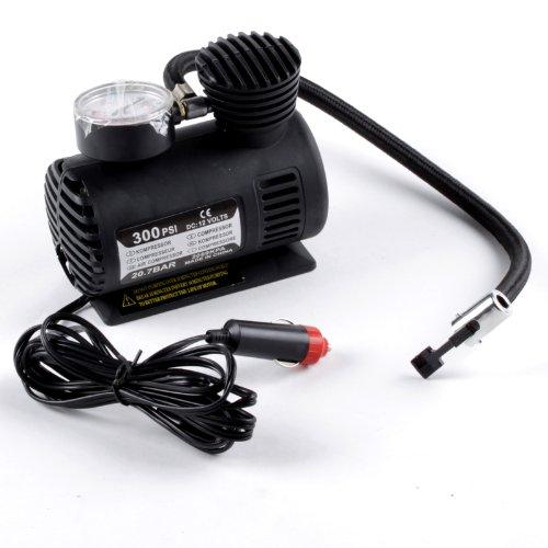 12V Car Auto Electric Portable Pump Air Compressor Tire Inflator Tool 300 Psi
