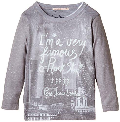 Pepe Jeans Jungen T-Shirt, TIRSO, GR. 176 (Herstellergröße: 16), Weiß (White 800)