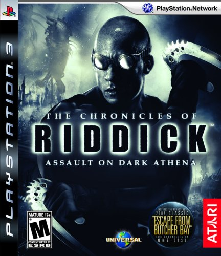 The Chronicles Of Riddick: Assault On Dark Athena - Playstation 3 front-257360