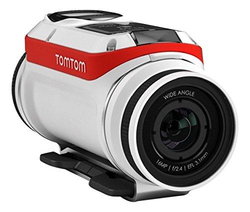TomTom 1LB0.001.01 - Cámara deportiva (tarjeta de memoria, iones de litio, 1080p, 720p, LCD, microSD TransFlash)