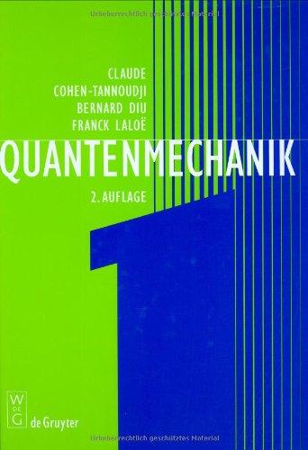 Quantenmechanik, Tl.1