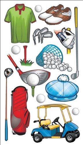 Sticko Golf Stickers