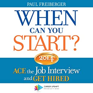 When Can You Start? 2014 Audiobook