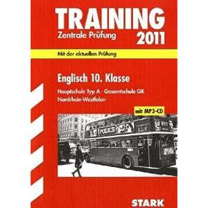 eBook Cover für  Training Abschlusspr xFC fung Hauptschule Nordrhein Westfalen Englisch 10 Klasse 2011 mit MP3 CD Zentrale Pr xFC fung Mit der aktuellen Pr xFC fung Mit den Original Pr xFC fungsaufgaben 2010