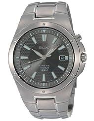 Seiko Men's SKA417 Kinetic Titanium Watch